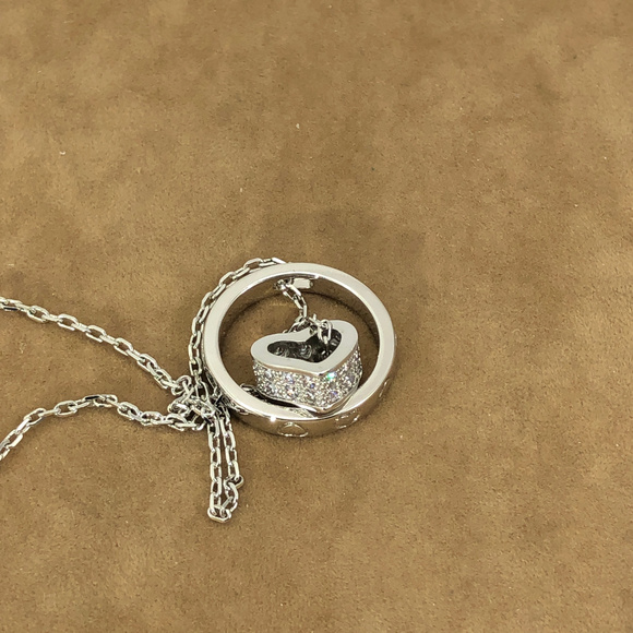 Other - To Infinity and Back with My Heart CZ Necklace